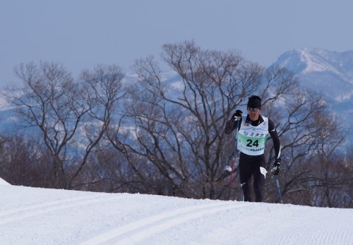 国体クロスカントリースキーで弊社、駒村俊介が準優勝しました!
